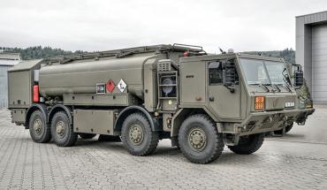 TATRA TRUCKS dodá další podvozky vojenských cisteren pro AČR