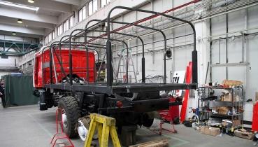 "Renovace T 815 ""Ostrý-II"" – druhá třetina"