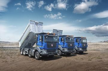 TATRA TRUCKS loni dodala 1186 vozů a splnila své závazky