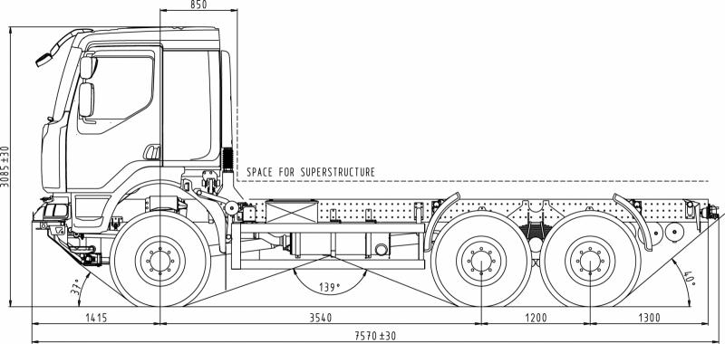 Kleurplaat Ford Tractor 6x6 Valn 205 K S Rukou Tatra Cz