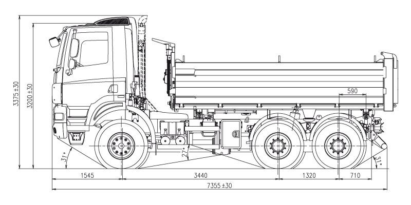 6x6 TŘ 205 Strann 221 Skl 193 PĚČ Tatra Cz