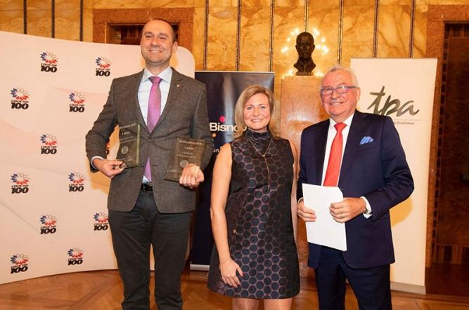 Společnost TATRA TRUCKS získala dvě prestižní ocenění: Tradiční česká značka a Značka, na kterou jsou Češi nejvíce hrdí