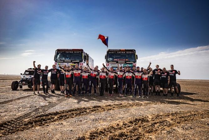 Dakar 2021 – partnerství Buggyra Racing a firem holdingu Czechoslovak Group přineslo dobré výsledky