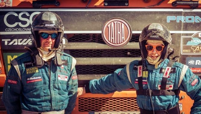 Tomeček oslavil 30. výročí značky TATRA na Rallye DAKAR druhým místem!