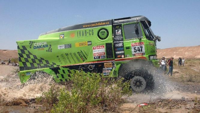 Tatry v cíli Dakaru 2012