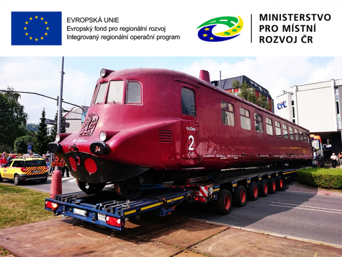 Slovenská strela putuje do Hranic, kde se dočká kompletní opravy