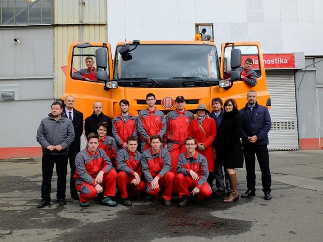 Vzdělávací projekt Tatra do škol úspěšně pokračuje. Zájem mají další kraje i školy