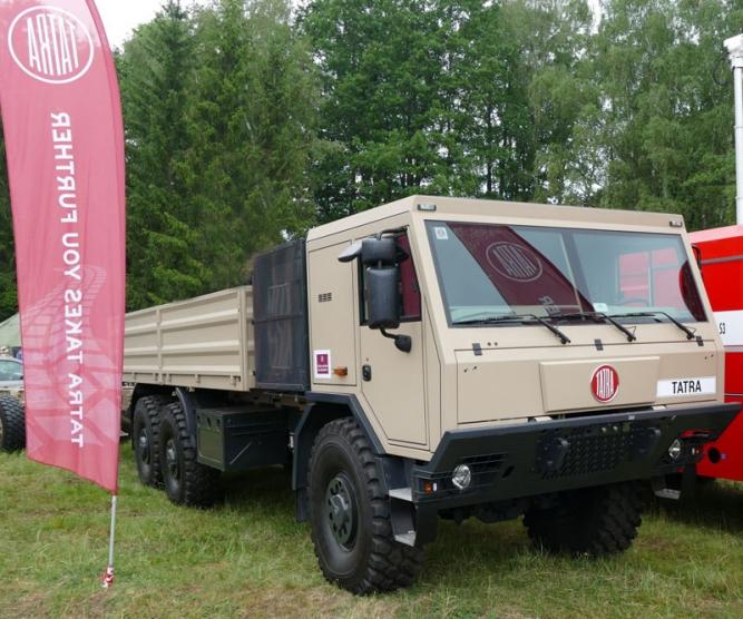 TATRA TRUCKS a firmy holdingu CZECHOSLOVAK GROUP se veřejnosti představí na tradičních Dnech NATO
