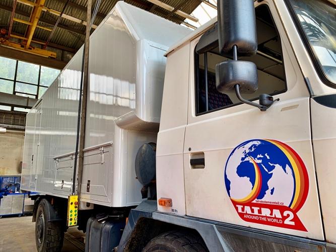 Přípravy na expedici Tatra kolem světa 2 dosáhly významného mezníku