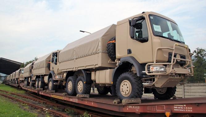 Společnost TATRA TRUCKS téměř vyprodala roční kapacitu výroby