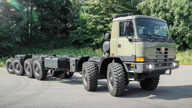 Společnost TATRA TRUCKS realizuje první obnovené dodávky pro indickou armádu