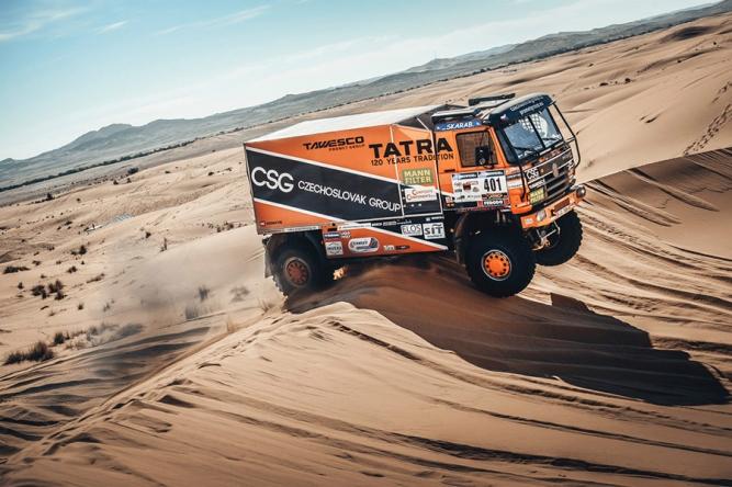 Africa Eco Race 2018 startuje. Tomeček jde do dobrodružství, které ještě nikdo nezkusil