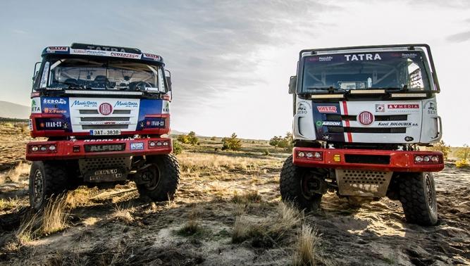 TATRA BUGGYRA RACING vyráží s vozidly TATRA PHOENIX a TATRA 815 Buggyra na Rallye DAKAR 2016
