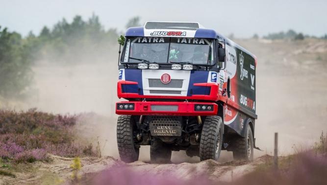 Ambiciózní partnerství: TATRA TRUCKS, BUGGYRA a Martin Kolomý