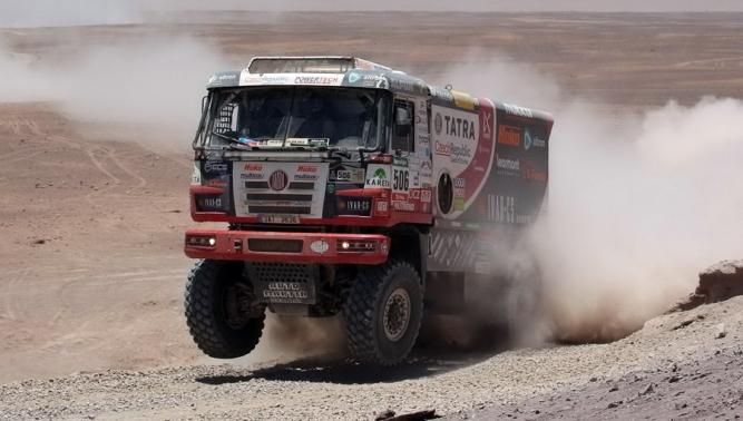 TATRA BUGGYRA Racing sedmá na Rallye Dakar