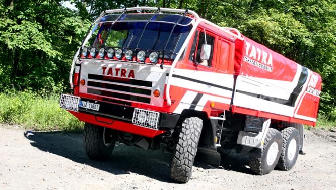"""Renovace T 815 VE 6x6 """"Ostrý-II"""" úspěšně dokončena!"""