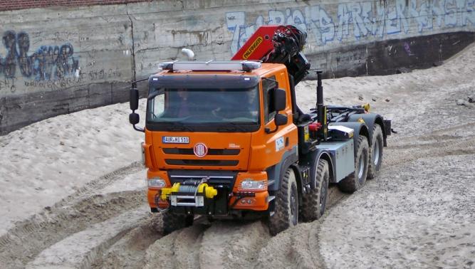 Nasazení vozidla TATRA PHOENIX 8x8 pro účely civilní ochrany v Německu
