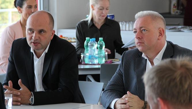 Společnost TATRA TRUCKS navštívil ministr vnitra Milan Chovanec