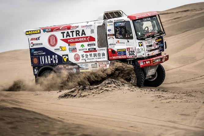 Speciály TATRA na startu 40. ročníku Rallye Dakar