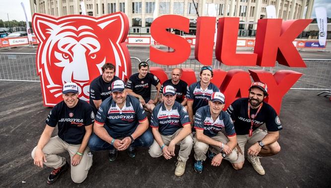 Kamiony značky TATRA vyrážejí na náročnou Silk Way Rally 2017