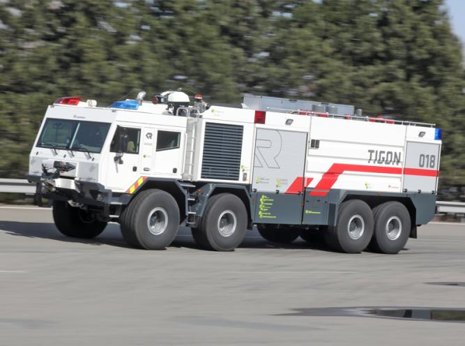 TIGON - hasičský unikát