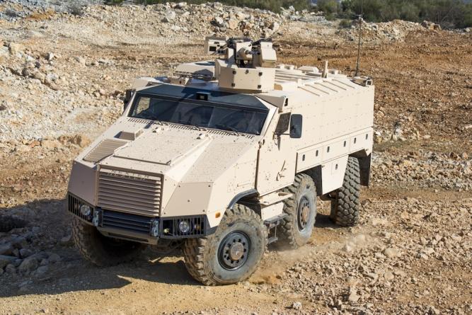 Armáda ČR pořídí šest desítek obrněných vozidel TITUS na podvozku TATRA