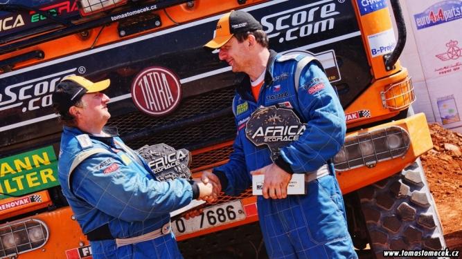 Vítězství Tomáše Tomečka v Africa Eco Race 2014