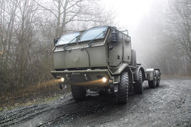 Společnost TATRA TRUCKS má nové exportní zakázky na vojenské speciály
