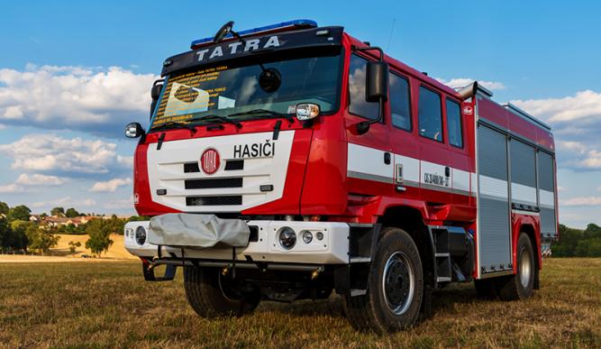 Na výstavě Pyrocar 2018 byly premiérově představeny zcela nové hasičské speciály značky TATRA