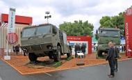 Vojenská vozidla TATRA na veletrhu EUROSATORY 2012