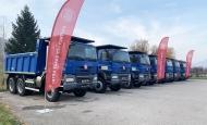 TATRA TRUCKS předala společnosti SKALDO nová vozidla TATRA PHOENIX