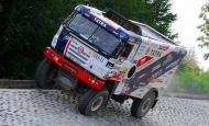 TATRA Buggyra Racing na polygonu TATRA TRUCKS