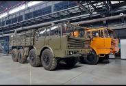 TATRA TRUCKS Reportáž z návozu exponátů do nového muzea