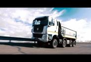 TATRA TRUCKS - srovnání jízdních vlastností civilních nákladních podvozků 8x8