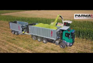 TATRA PHOENIX Euro 6 agrotruck with Fliegl superstructure and tandem trailer